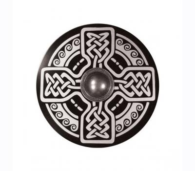 WOODEN CELTIC SHIELD