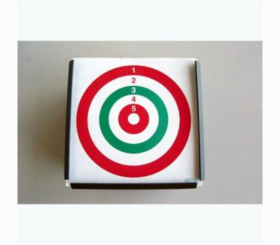 Square target holder of metal cm.10X10