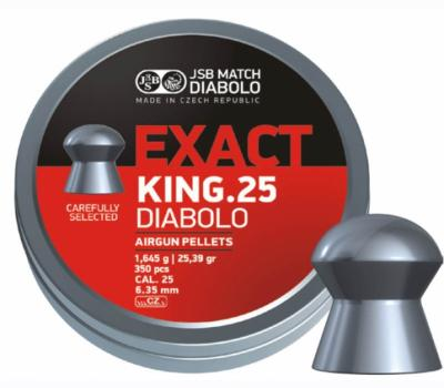 JSB PELLETS EXACT KING 6.35