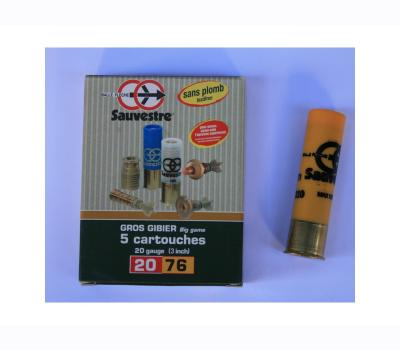 SLUG CARTRIGES SAUVESTRE 20/76 SP